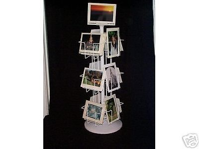 Greeting card display rack 12 pocket 5x7 hv spinner counter greeting card display rack 12 pocket 5x7 hv spinner counter rotating wholesale in business industrial ebay reheart Images