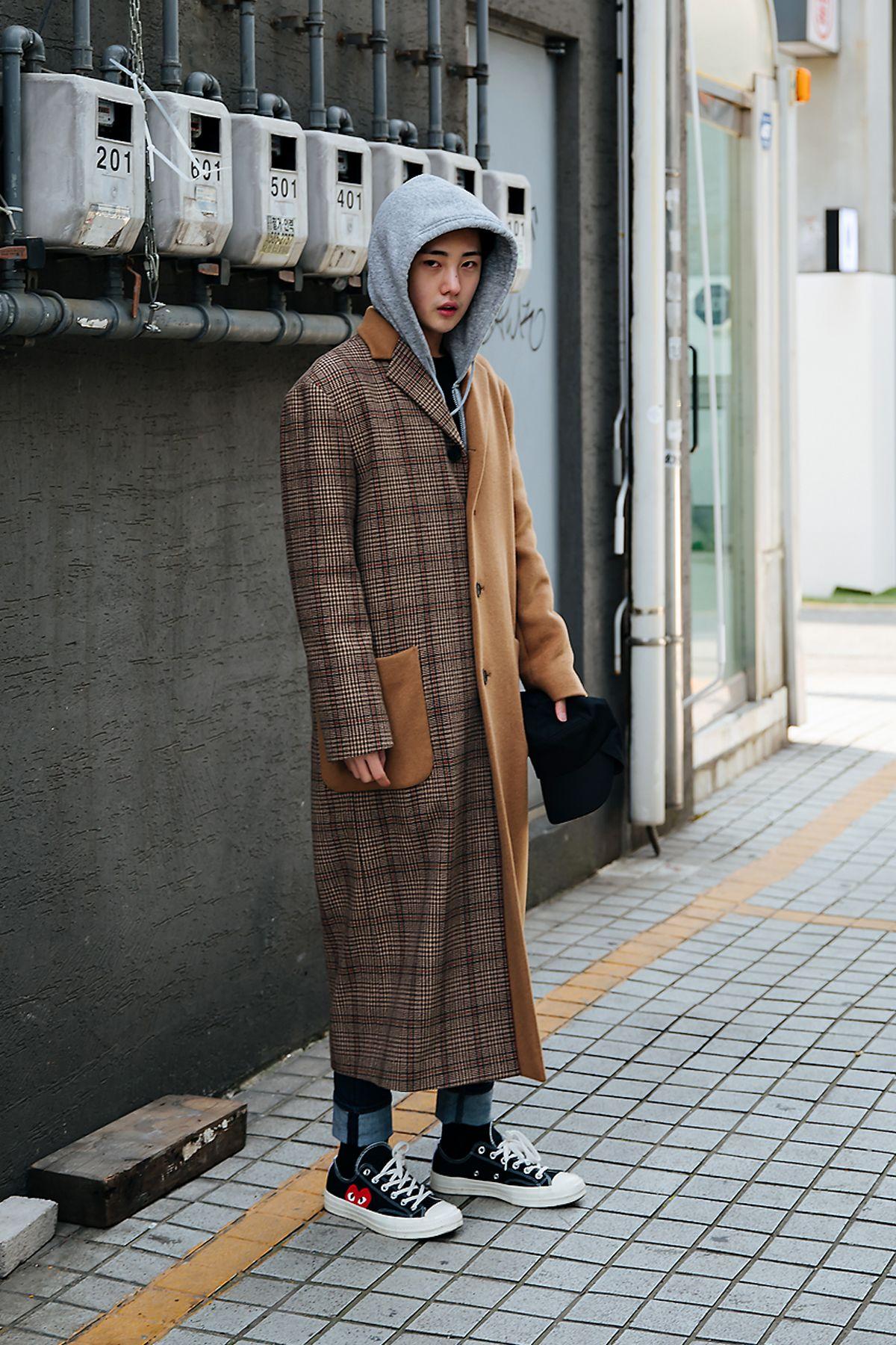 bea413ccc Street style men winter 2017-2018 in seoul -3
