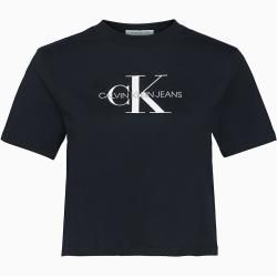 Photo of Calvin Klein Straight Fit kurz geschnittenes Logo-T-Shirt Xl Calvin Klein
