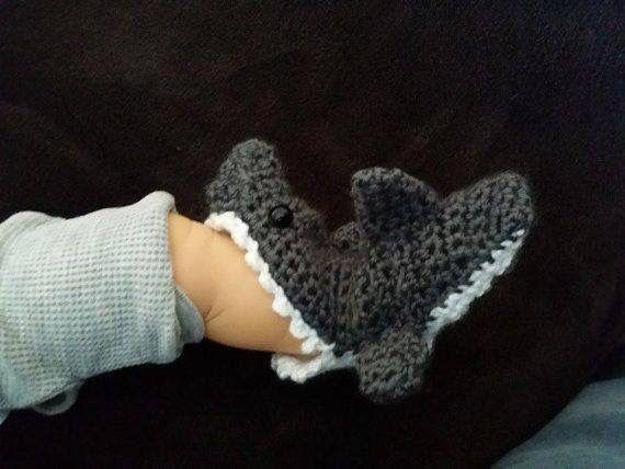 Hai Socken Klein Häkeln Pinterest Häkeln Kleidung Häkeln Und