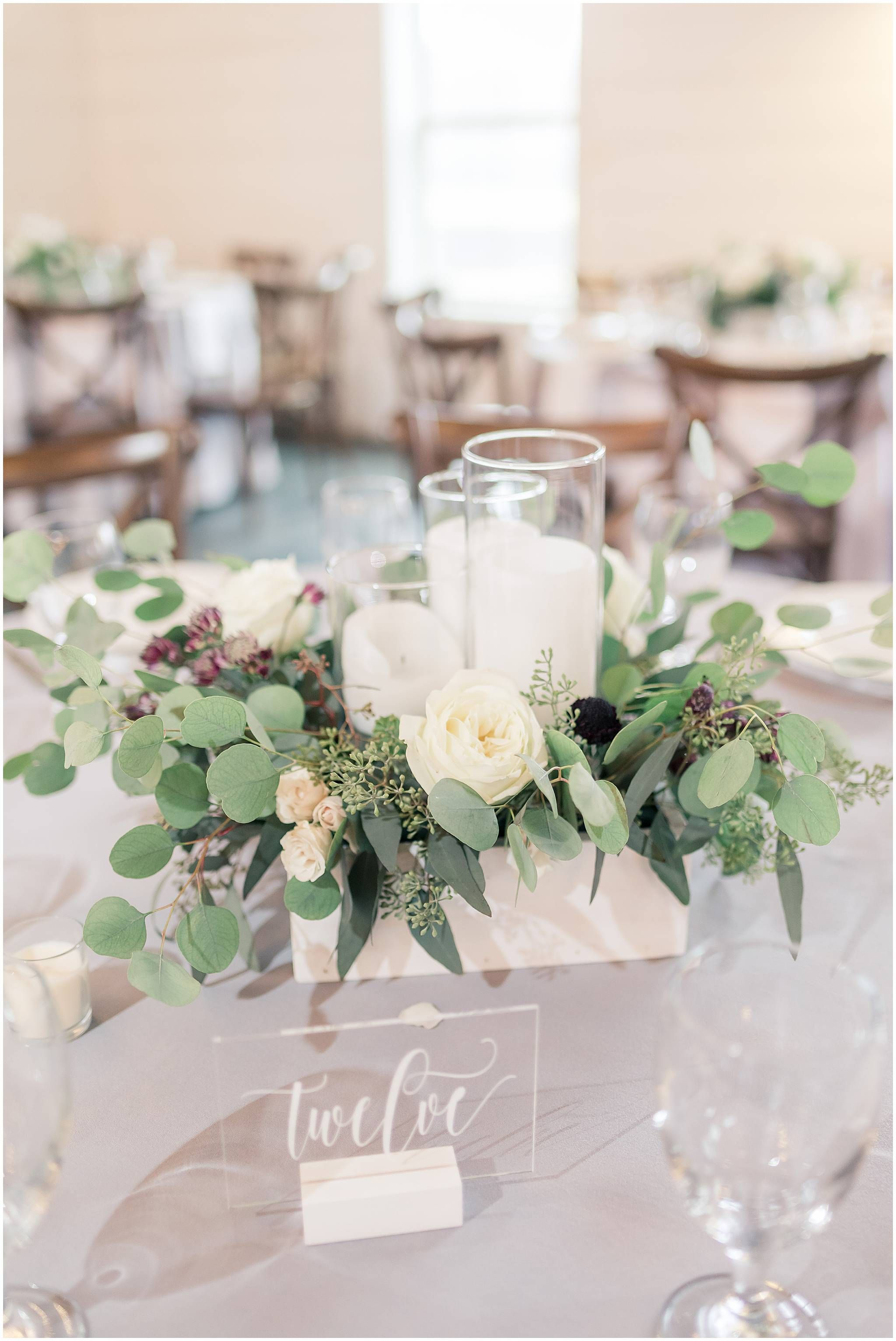 Rainy Wedding At Grant Hill Farms Venue Five Fourteen Photography In 2020 Wedding Centerpieces Fall Wedding Centerpieces Wedding Decorations