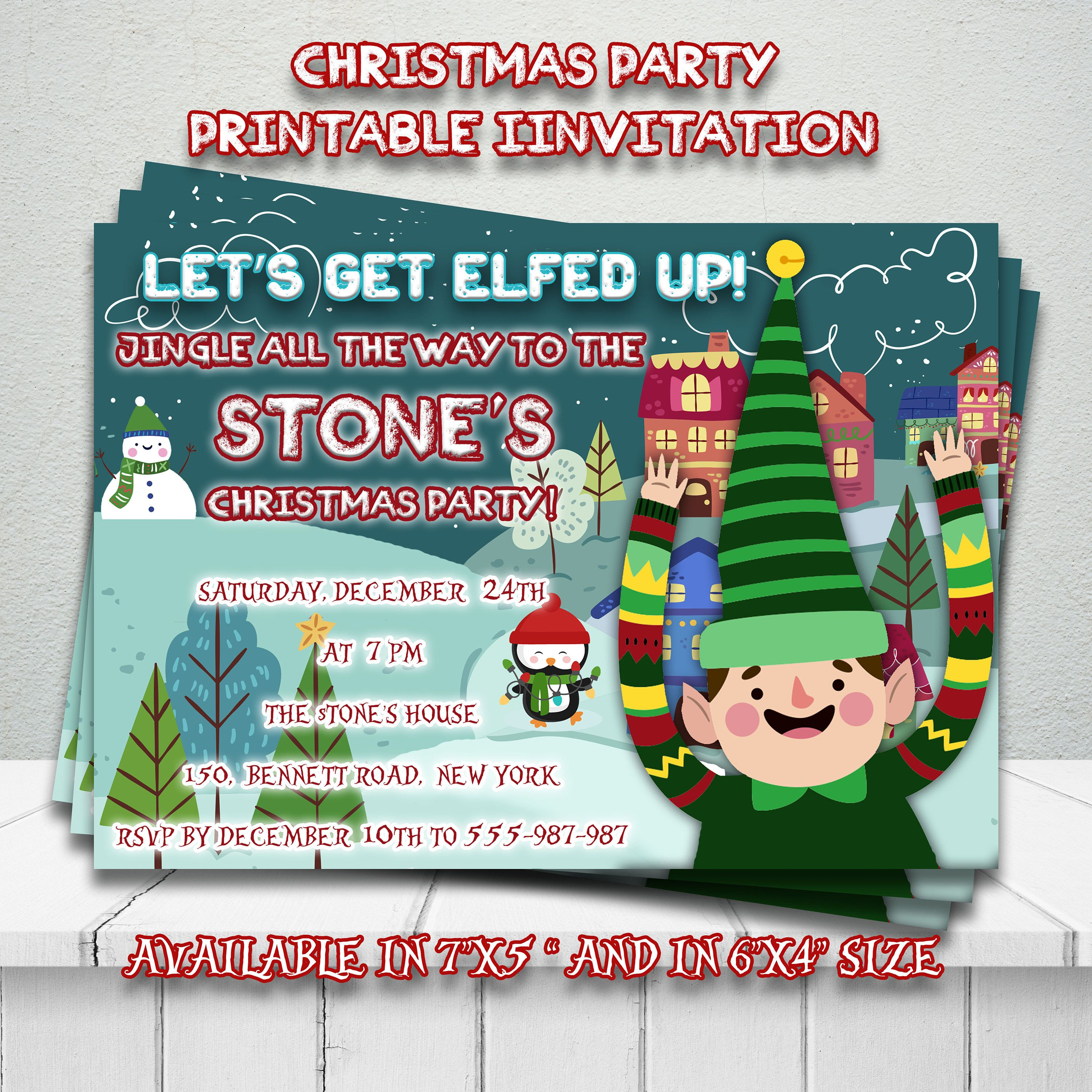 CHRISTMAS PARTY INVITATION,funny Christmas invites,Christmas dinner ...