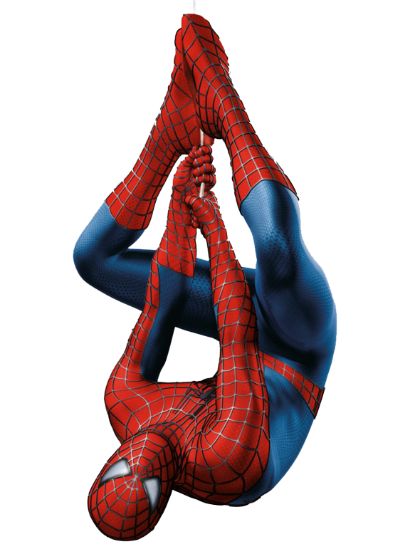 Spiderman Hanging Png Image Spider Man Trilogy Spiderman Spiderman Upside Down