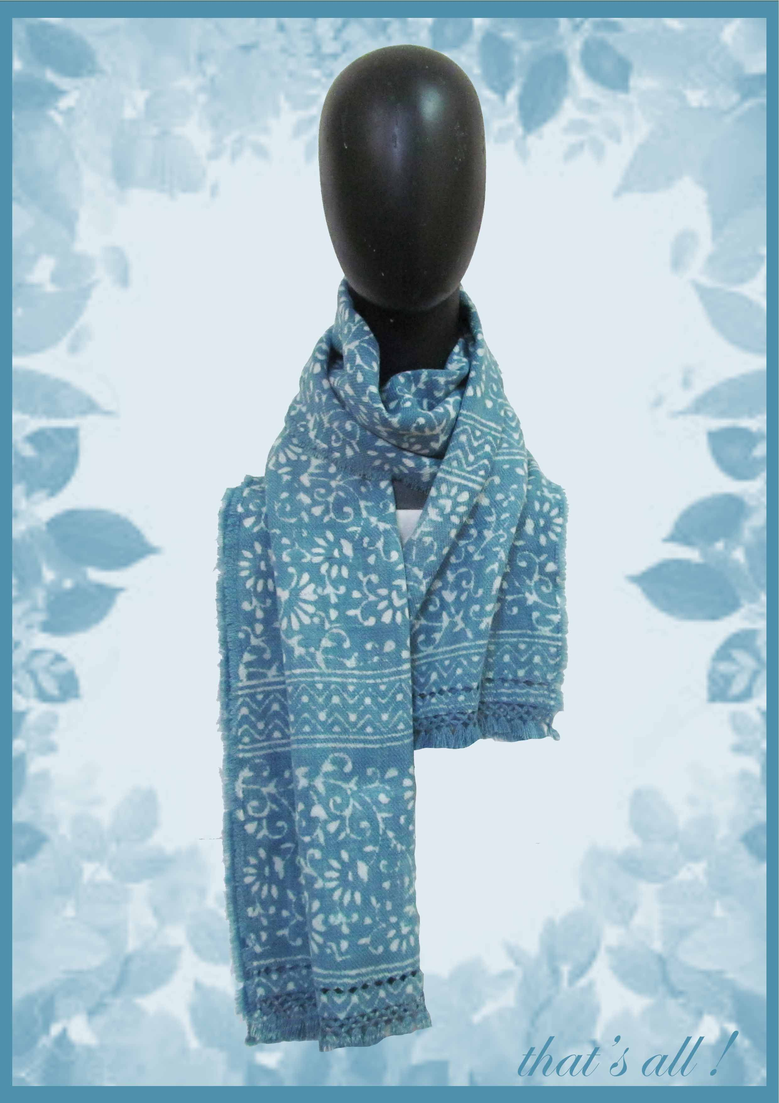 1a471fcf384ff Beautiful handmade scarves stoles and shawls , handwoven and block printed  using natural dyes. Made from fine merino wool. Make in India.