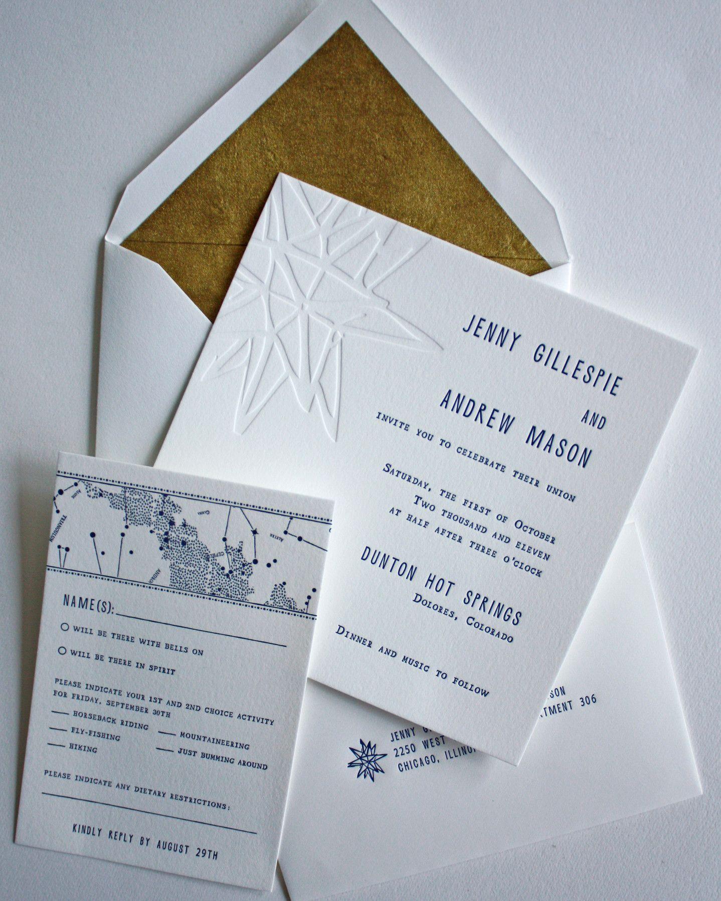 30 Modern Wedding Invitations We Love | Pinterest | Invitation paper ...