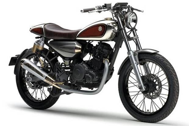 Model Retro Berikutnya Yamaha Resonator 125cc Di Tms Sepeda