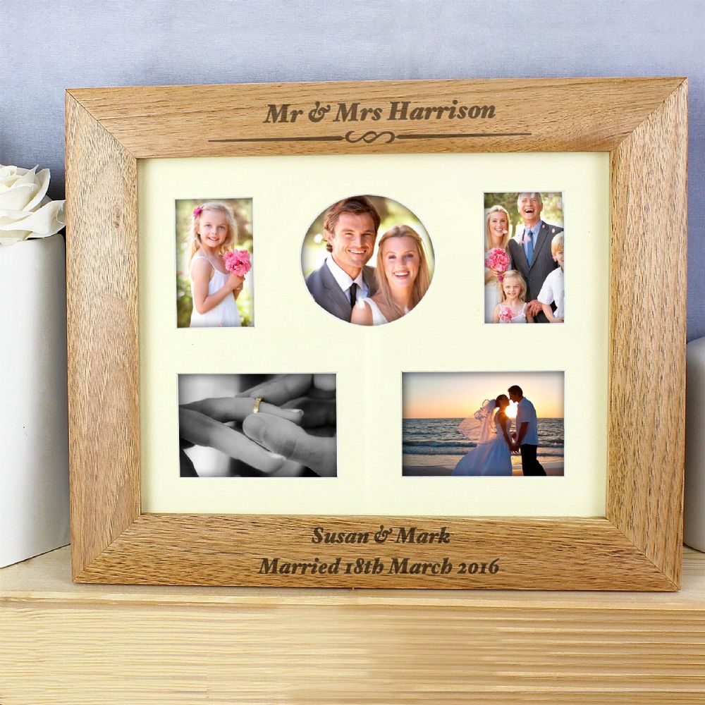 Personalised 10x8 Any Message Wooden Photo Frame | Pinterest ...
