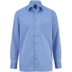 Olymp Luxor Hemd, modern fit, New Kent, Blau, 46 Olympolymp #fashiontag
