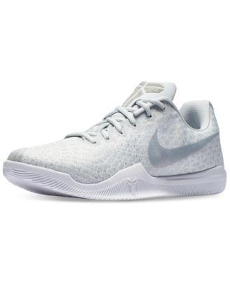561183462cb8 Nike Men s Kobe Mamba Instinct Basketball Sneakers from Finish Line - White  11.5
