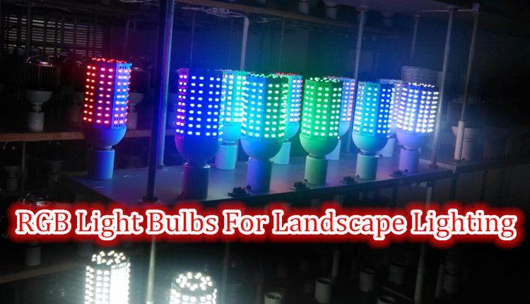 Rgb Led Light Bulbs E26 E27 E39 E40 Led Corn Light Bulb For