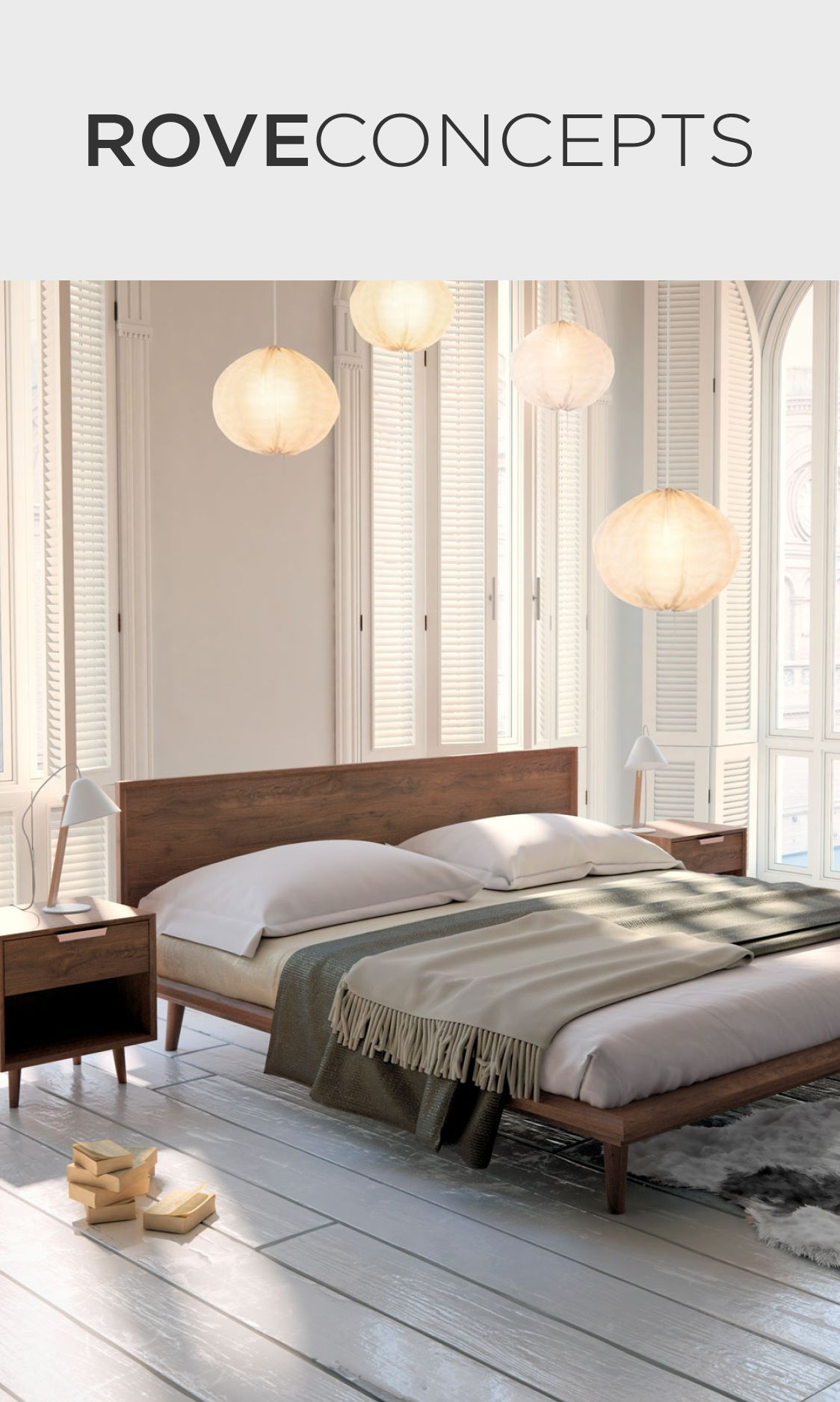 Asher Bed   Rove Concepts Rove Concepts Mid-Century ...