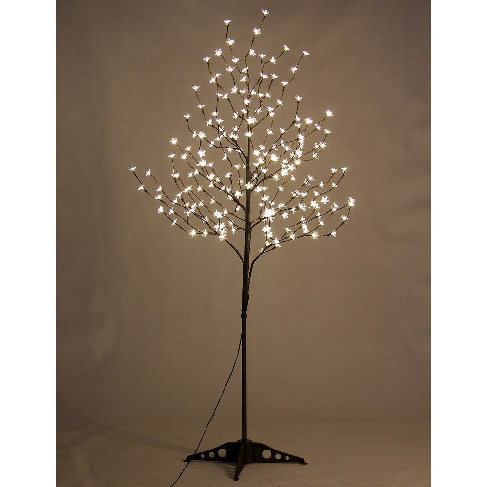 Lightshare 6 208l Led Cherry Blossom Tree Warm White Lights Vase With Lights Fairy Lights In Trees Blossom Trees
