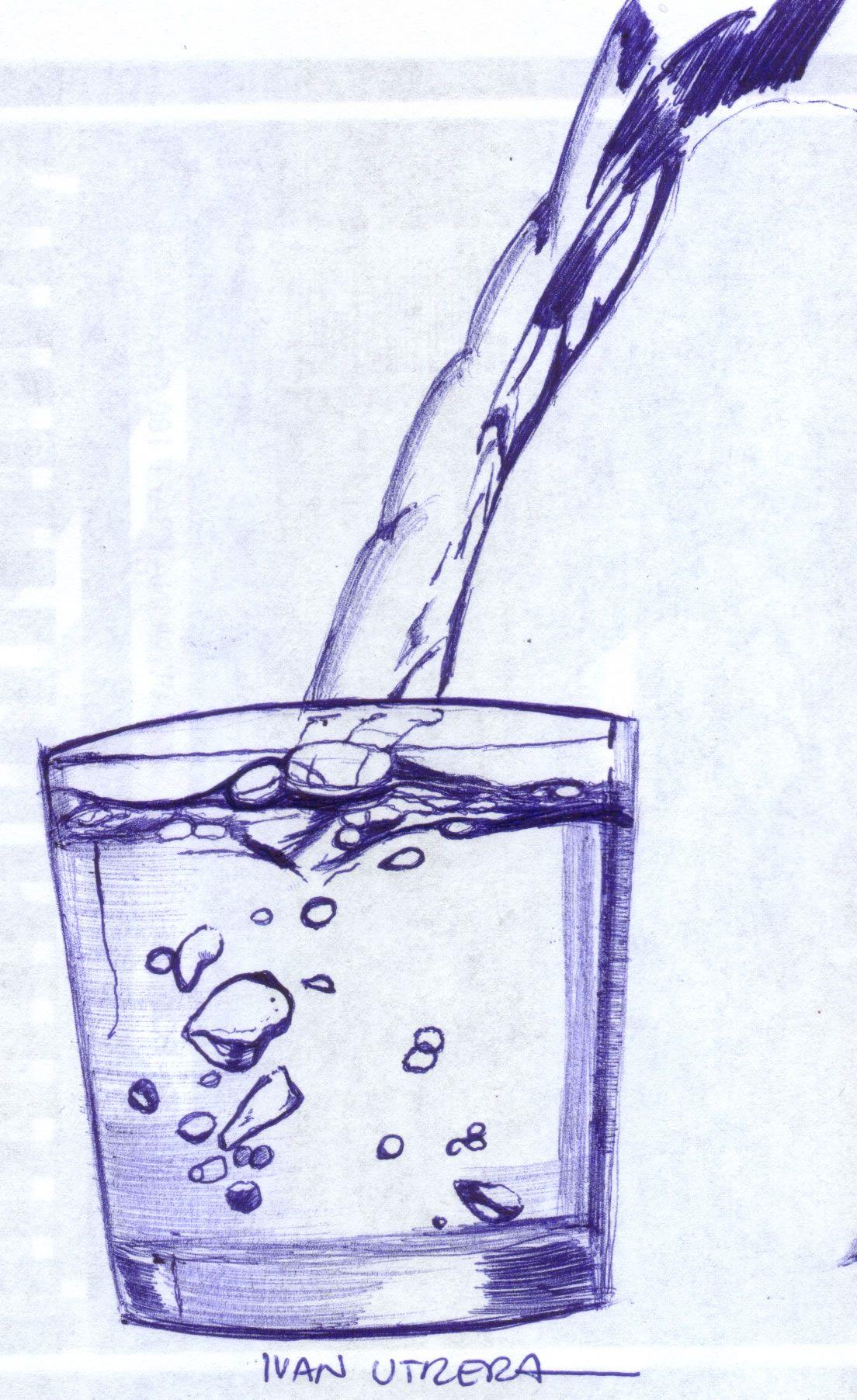 Vaso Con Agua Glass Glass Of Milk