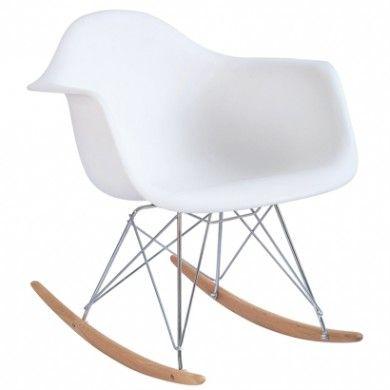Fauteuil Rar Eames Blanc Mobilier Design Mobilier Meuble Contemporain
