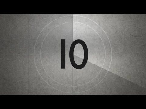 Old Movie Countdown Timer With Sound Effect Hd Free With Download Link Youtube Film Countdown Old Movies Movie Intro
