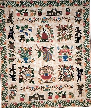 folkartnyc.jpg Patricia Cox pattern | Antique Quilts | Pinterest