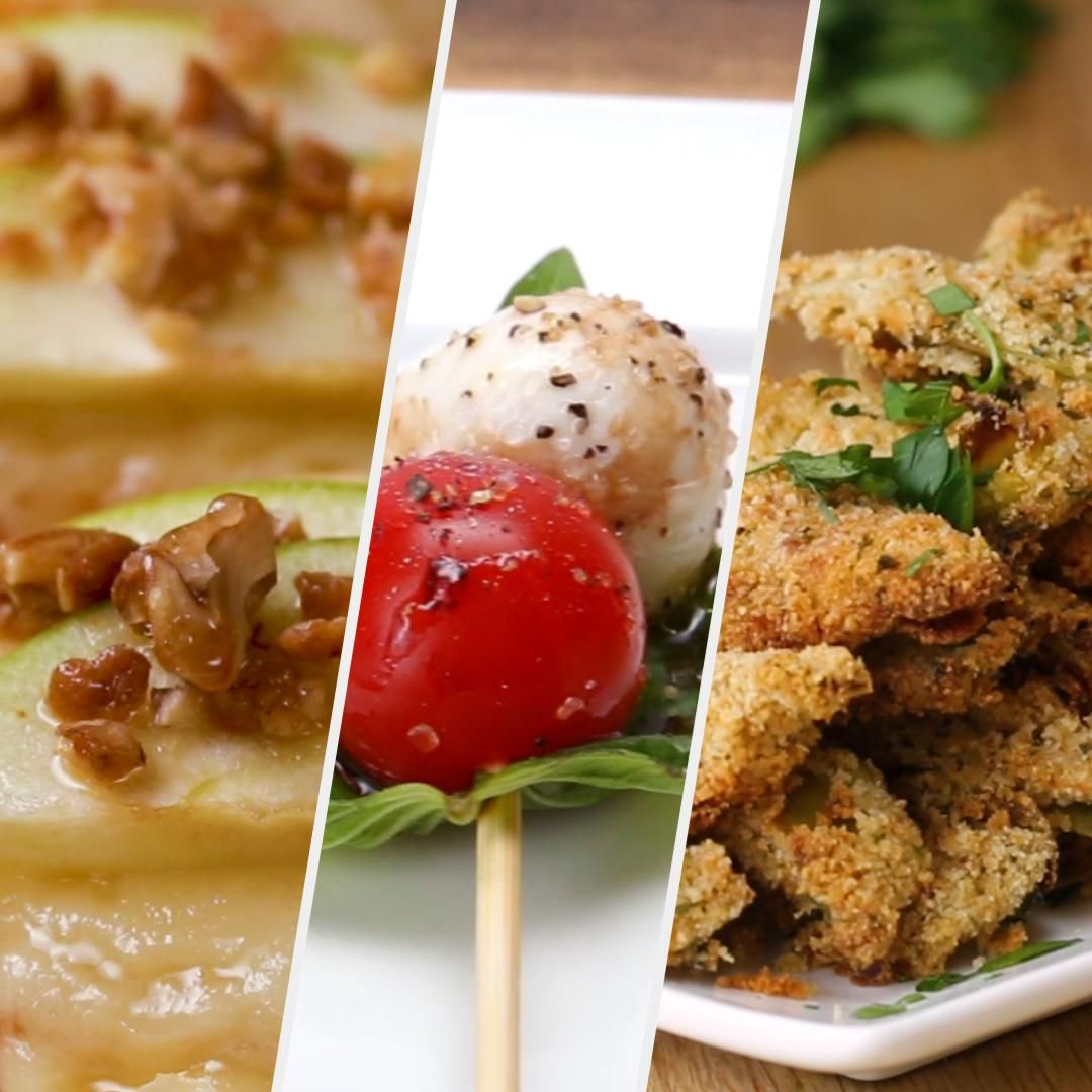 Three Fancy (But Easy) New Year's Eve Appetizers Recipes