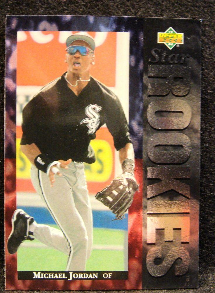 1994 Upper Deck Michael Jordan Baseball Pre Rookie Card White Sox