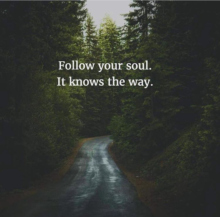 Follow Your Soul Quotes Self Love Pinterest Following Your