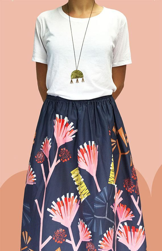 artsy clothes you'll love to wear | women's fashion  | Cotton skirt