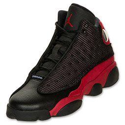 watch f8a96 f1276 Boys' Gradeschool Air Jordan Retro 13 Black/Varsity Red ...