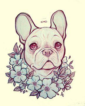 french bulldog playful and smart body art pinterest buldogue