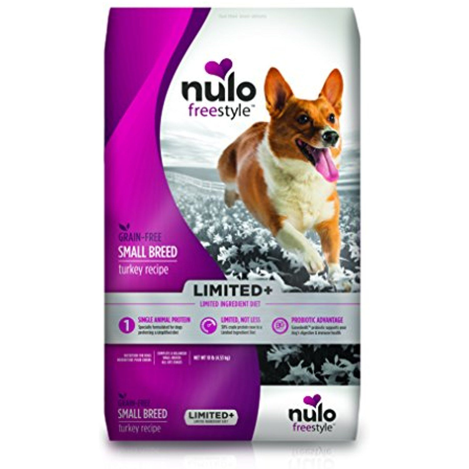 Nulo freestyle dog limited plus grain free small breed