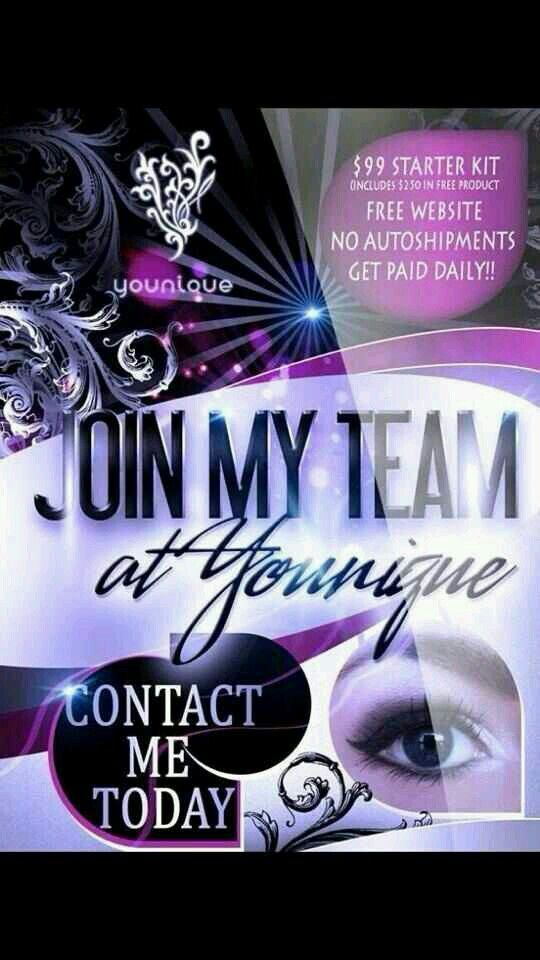 Join my team today!! Great team, awesome makeup, start today!!!