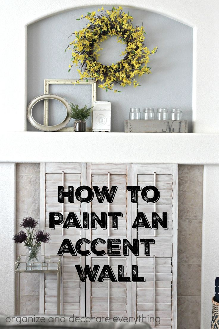 Tips and tricks on how to paint an accent wall. Wall prep and the tools you use make all the difference to a perfectly painted wall. @frogtape #frogtape #ad