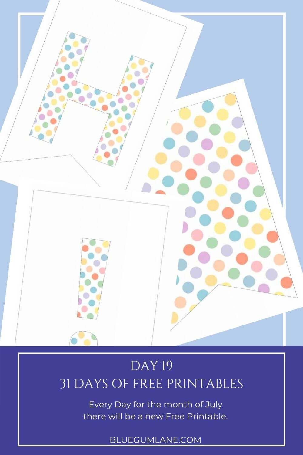 Day 19 Free Printables For 31 Days Blue Gum Lane In 2020 Free Printables Planner Inserts Printable Printable Planner