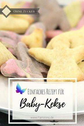 Baby-Mürbeteig-Kekse ohne Zucker #quickcookies