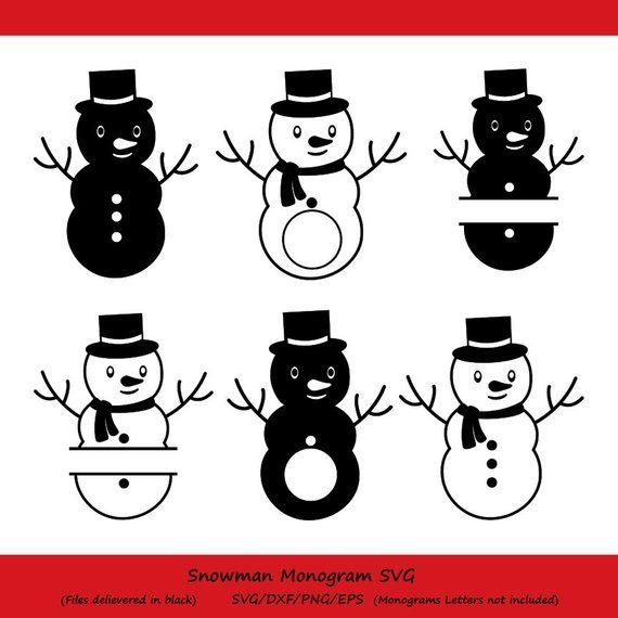 snowman svg christmas svg snowman monogram svg christmas snowman snowman clipart winter svg sn pinterest