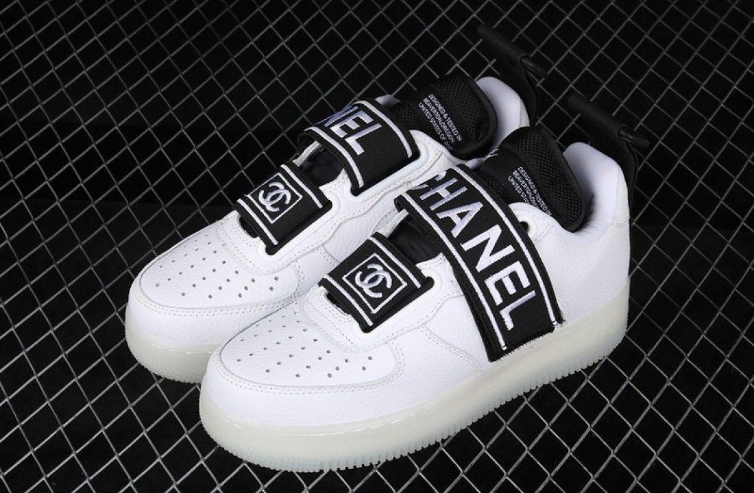 Custom Chanel x Nike Air Force 1