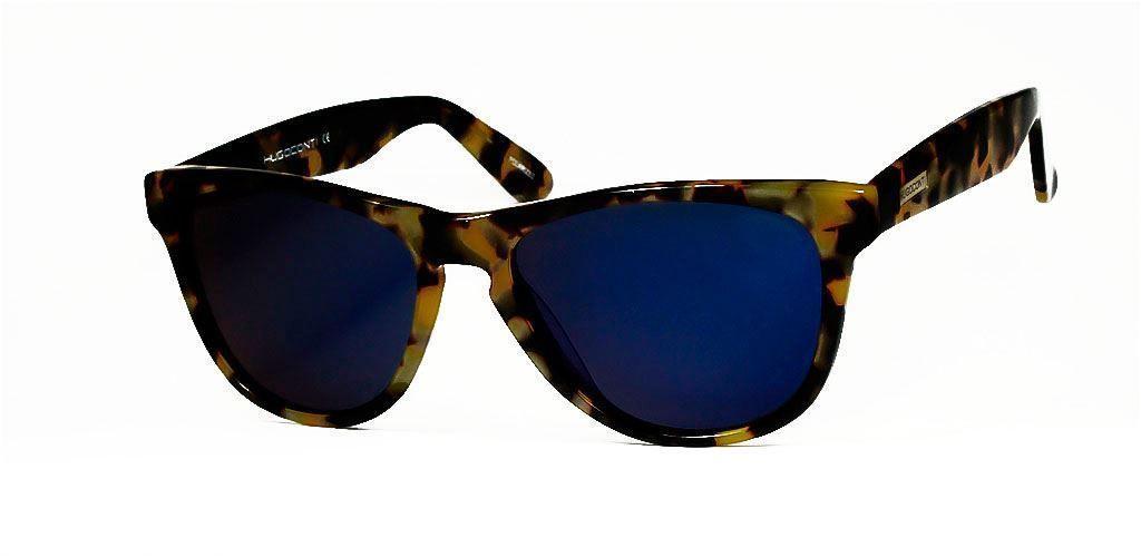 Gafas de Sol #HUGO CONTI 6084/HAVANA/AZUL Una línea que no pasa de ...