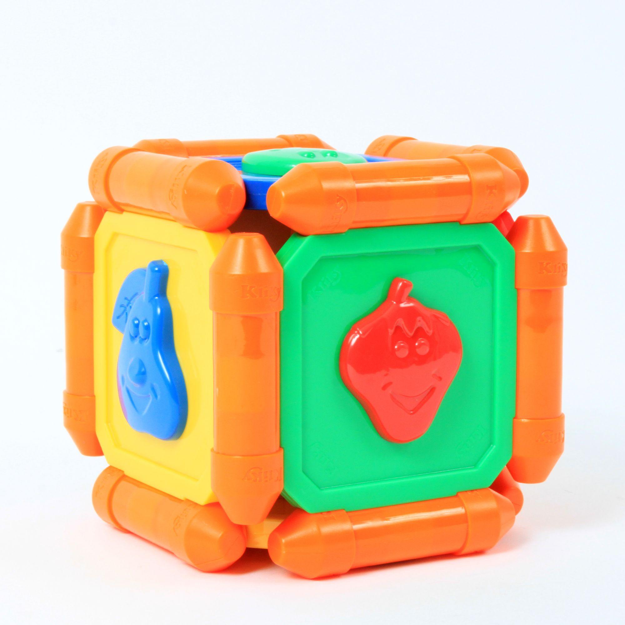 950005 jeu de construction aimant kliky coffret cube avec faces comportant des formes. Black Bedroom Furniture Sets. Home Design Ideas