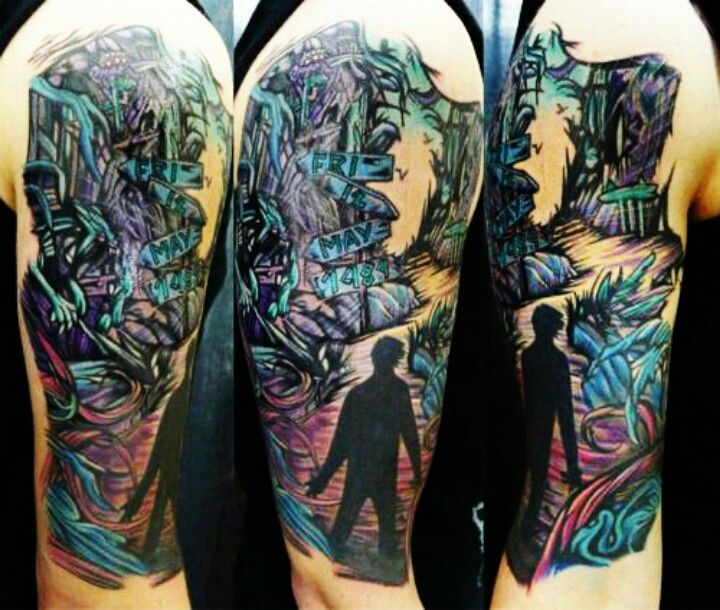 A Day To Remember Homesick sleeve | Tattoo inspiration ... A Day To Remember Homesick Tattoos
