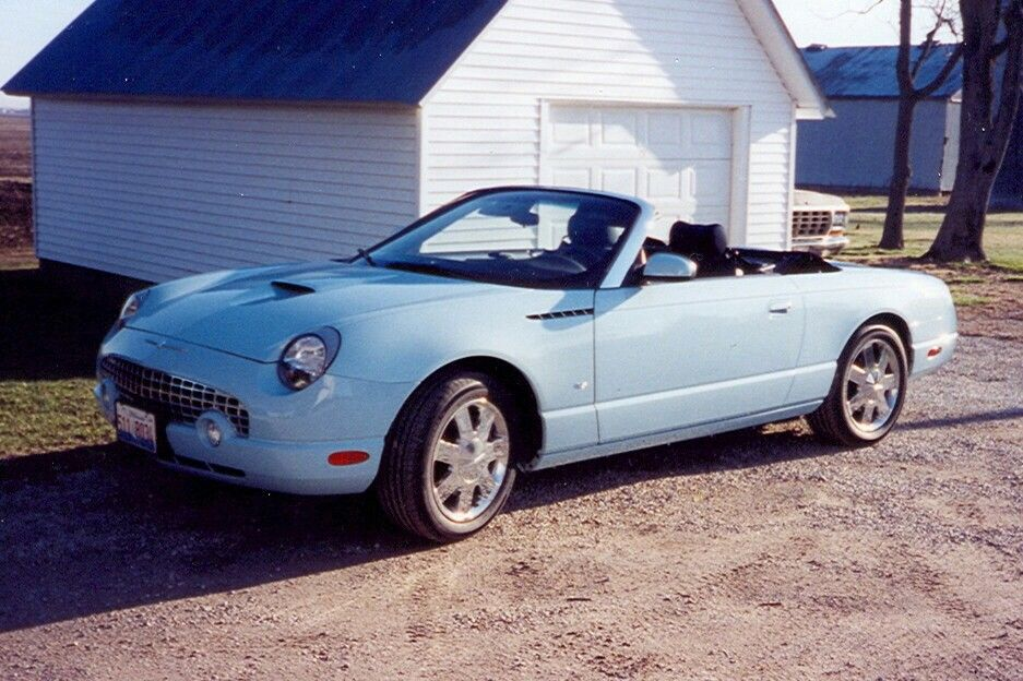 Ford Thunderbird 2003 My Wife S Baby Was Wiped Out By Hurricane