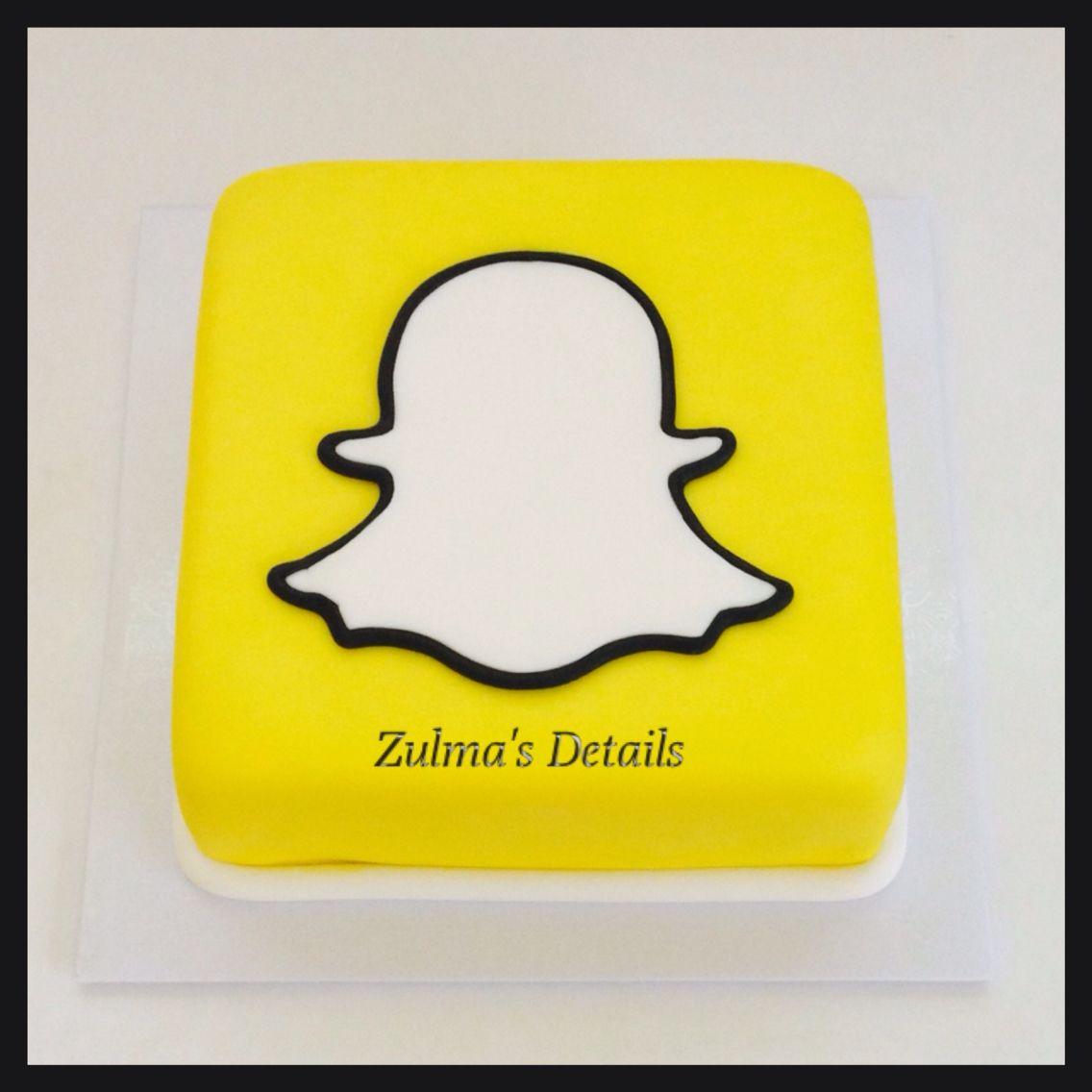 Snapchat Cake, Snapchat Birthday Y Birthday Cake Girls