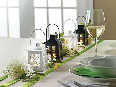Adorable Mini Lantern Favors Candle Wedding Favors Reception