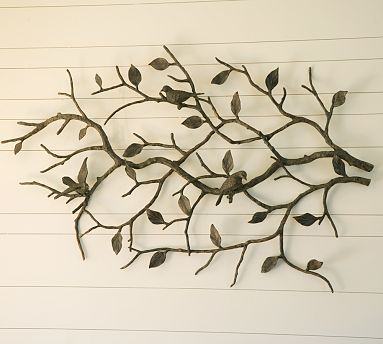 Metal Tree With Birds 449