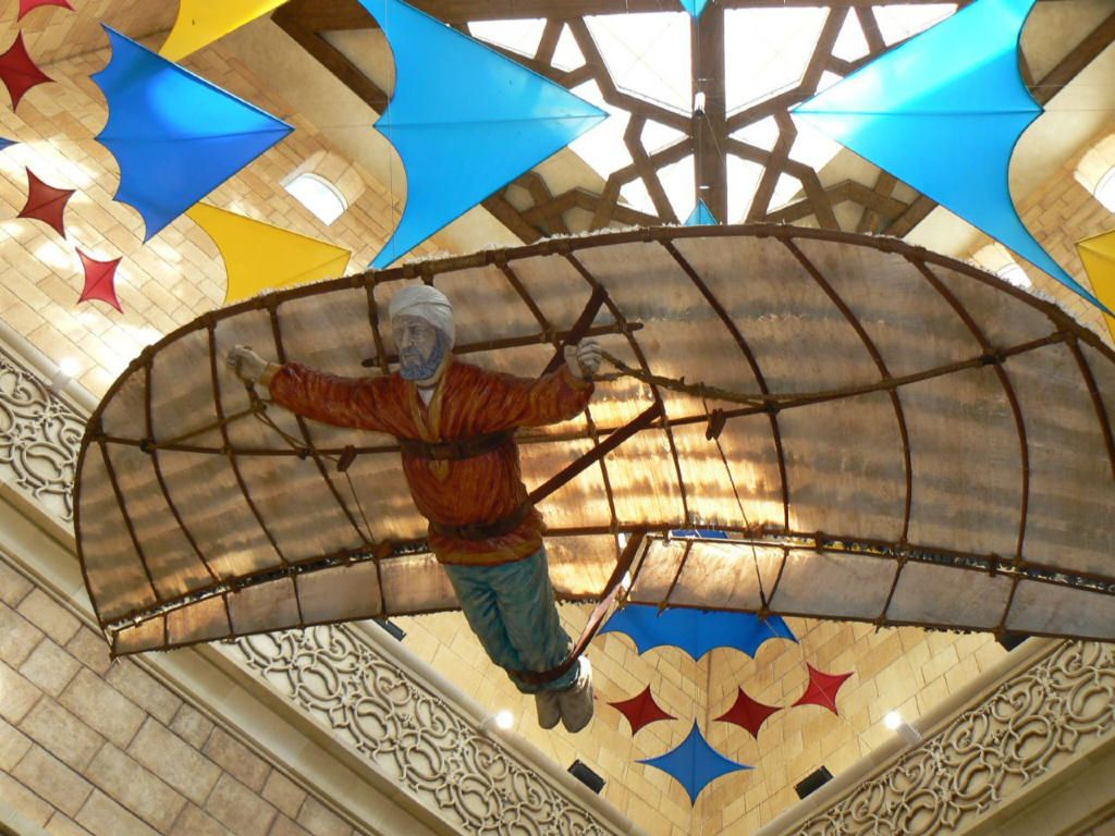 Abbas Ibn Firnas Invented A Flying Machine That Eventually