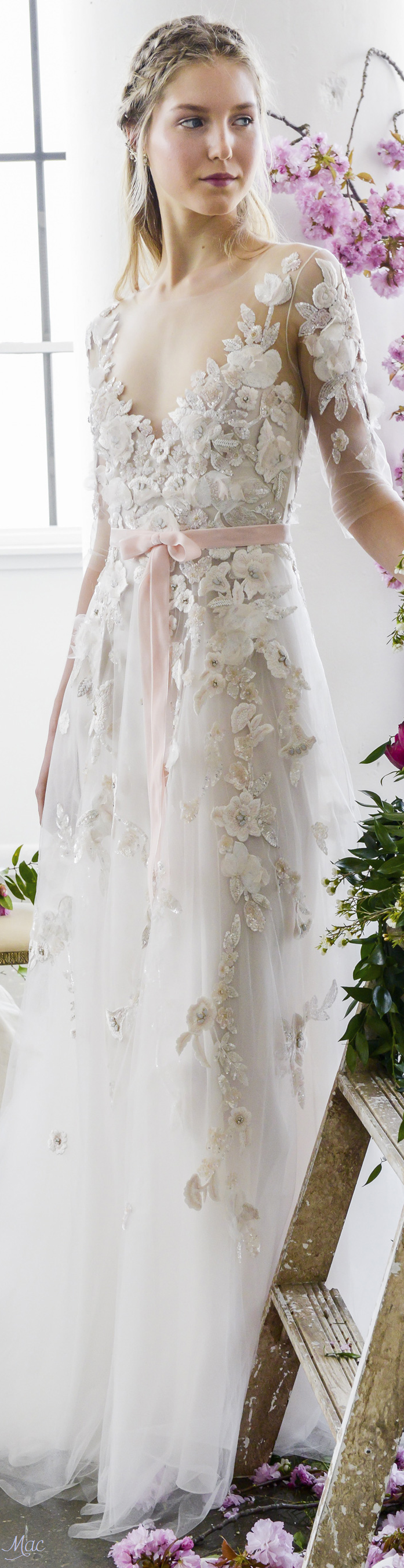 Spring marchesa notte boutique chic bridal gown chic