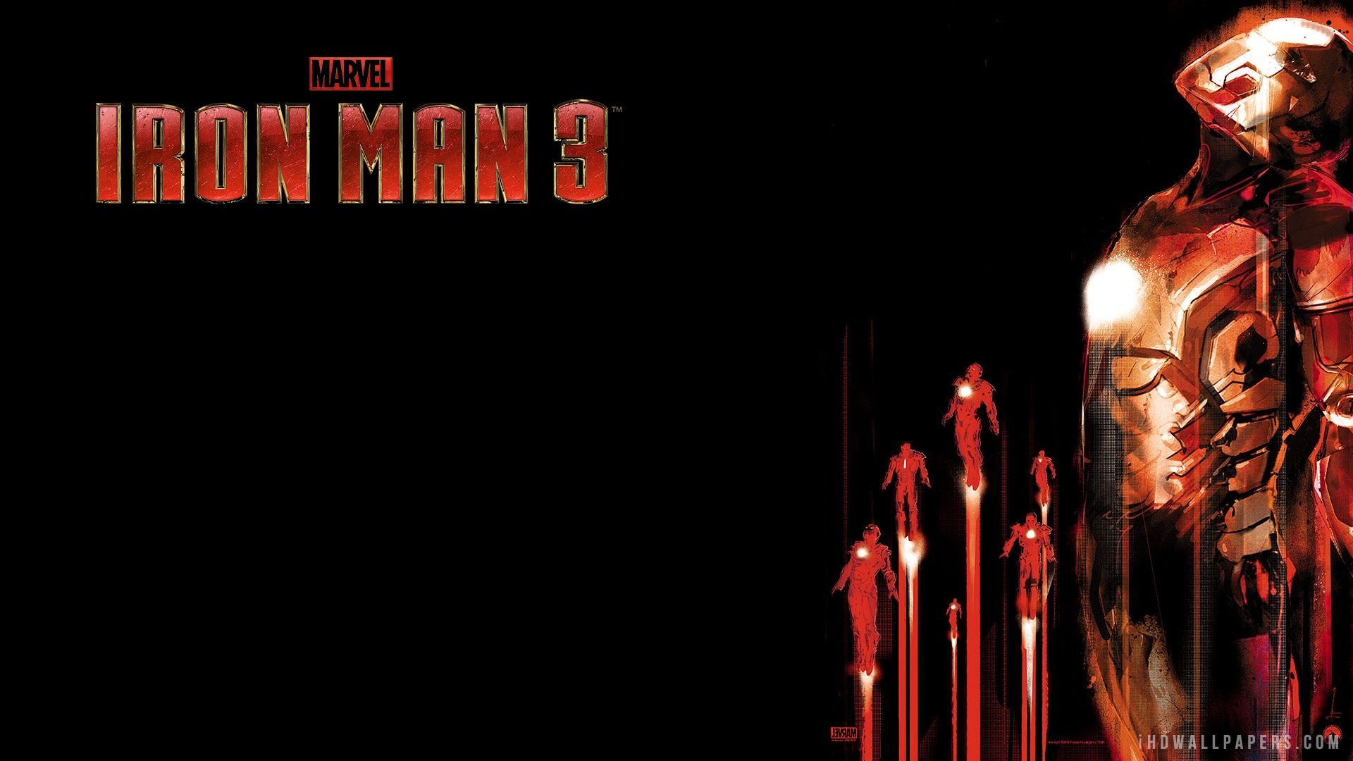 Iron Man 3 Imax 3d Hd 1080p Wallpapers Ironman