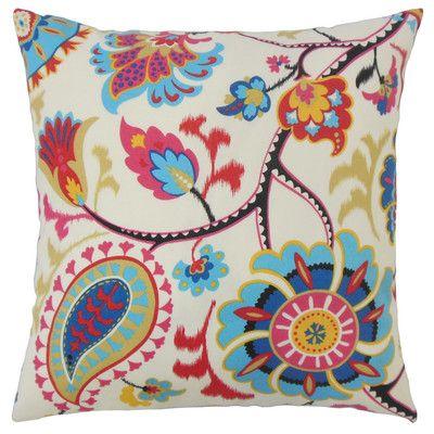 Philyra Floral Scatter Cushion Wayfair Uk Cushion