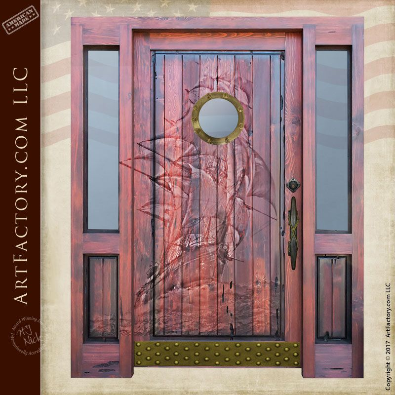 Hand Carved Fine Art Doors Made In America Since 1913 Wood Doors Solid Wood Front Door Wood Front Doors