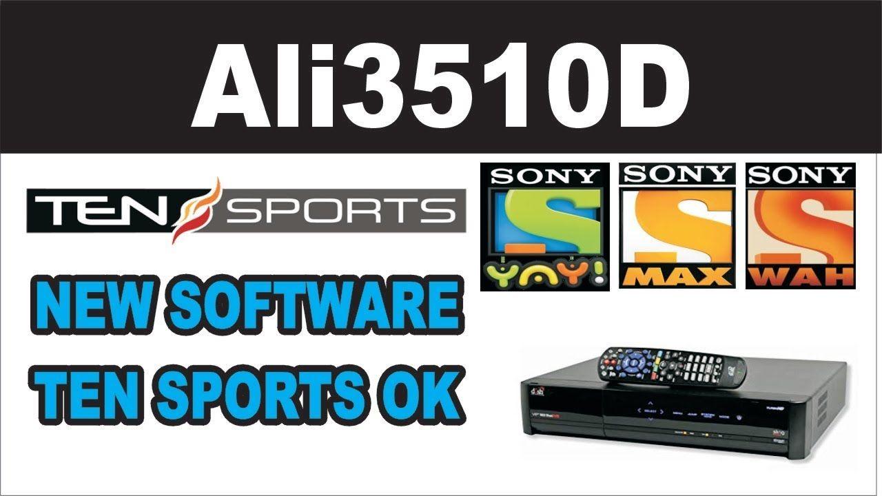 ALI3510D HW104 02 999 TEN SPORTS OK NEW SOFTWARE | star look