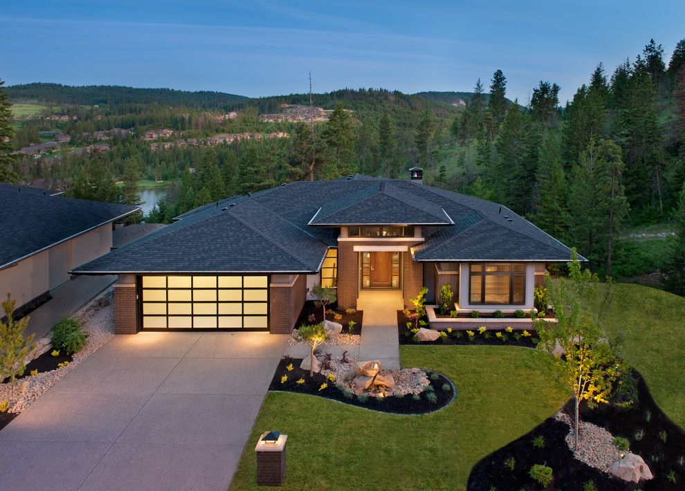 Image result for contemporary ranch exteriors hip roof