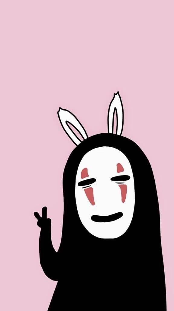 No Face Ghibli Art Studio Ghibli Art Anime Wallpaper