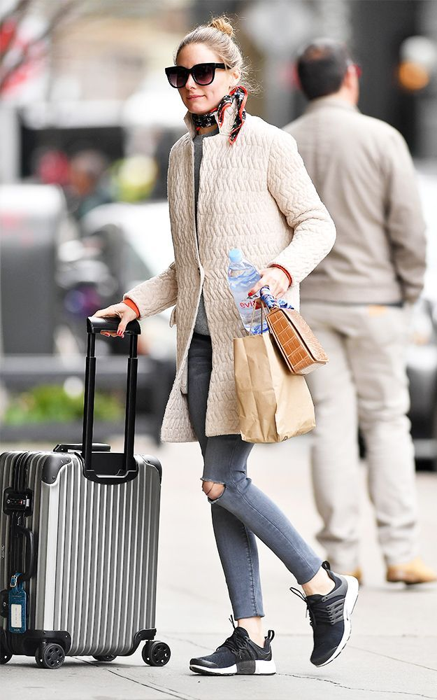 designer fashion 5745f 6c6ac Olivia Palermo s On-Sale Nike Sneakers Have the Best Reviews via   WhoWhatWear