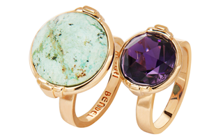 Henri Rocks Double Stack Ring Set. Want!